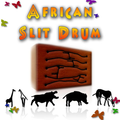 African Slit Drum Sample Library
