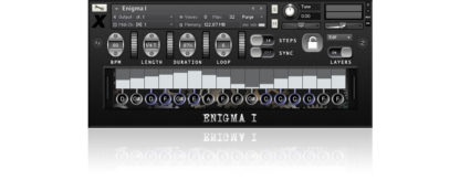 Enigma 1 found sound sample library for Kontakt