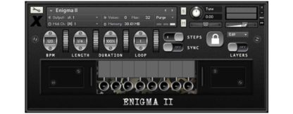Kontakt sample library Enigma II