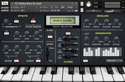 CZ-Alpha - Casio synth sample library
