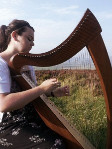 Michaela Dorrity Irish Celtic Harp