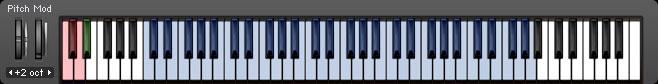 Irish Celtic Harp Sample Library Keyboard Layout
