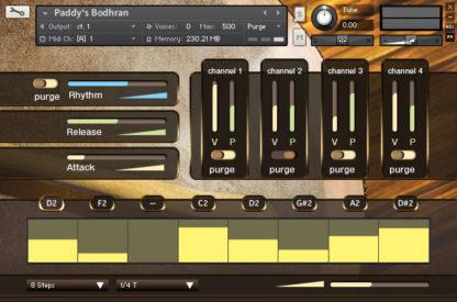 Paddy's Percussion GUI